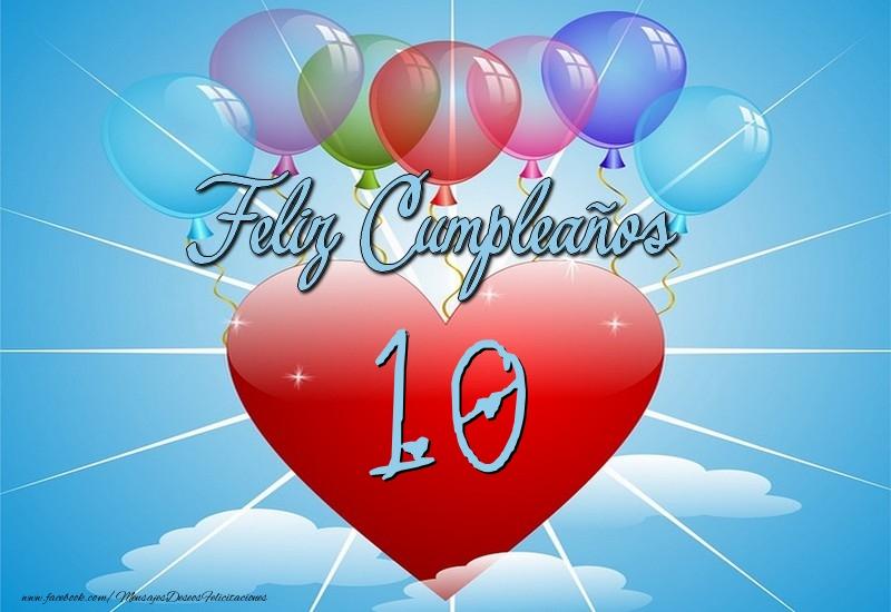10 años, Feliz Cumpleaños