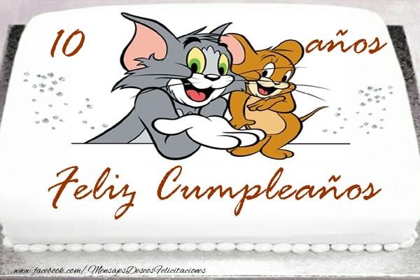 Feliz Cumpleaños 10 años