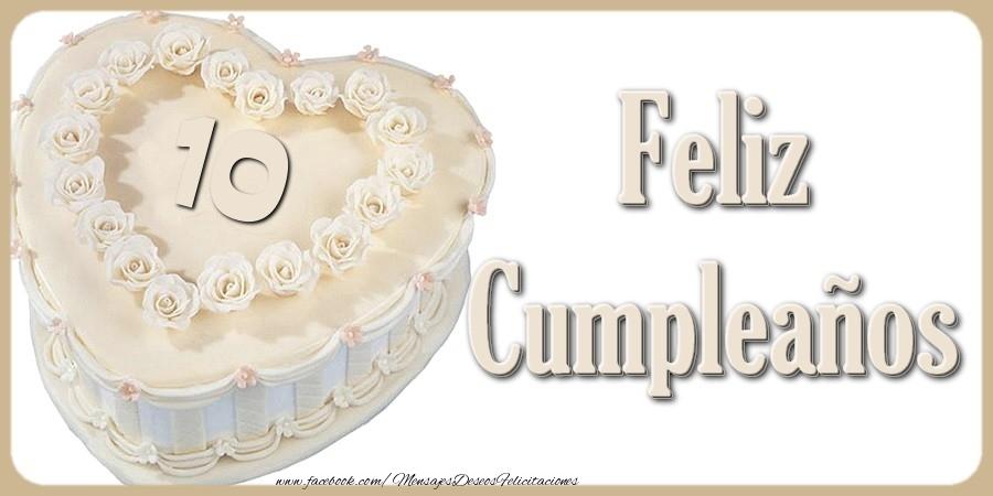 10 años Feliz Cumpleaños