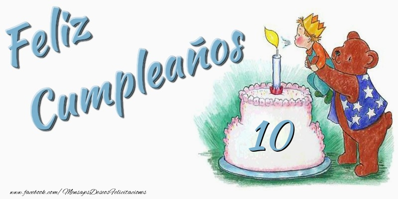 Feliz Cumpleaños 10 años!