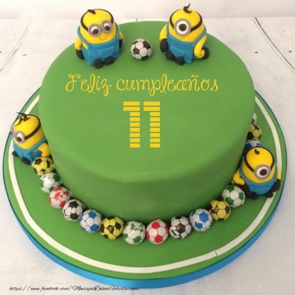 Feliz Cumpleaños, 11 años!