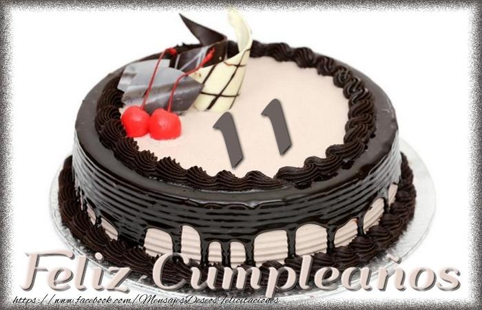 11 años Feliz Cumpleaños