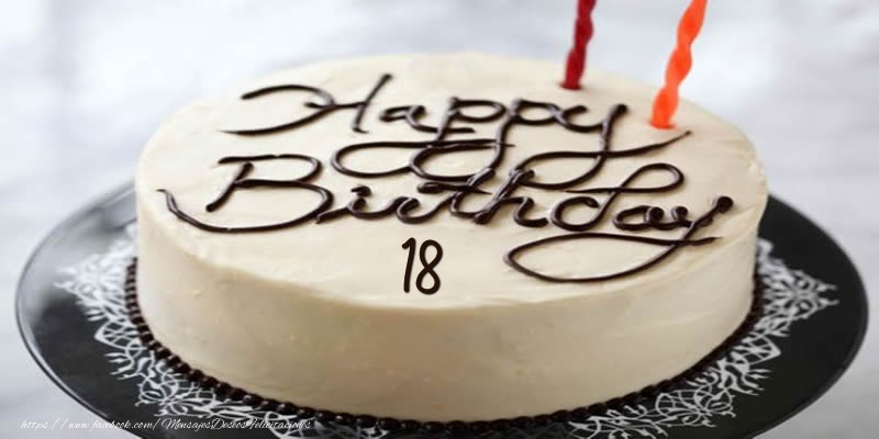 Happy Birthday 18 años