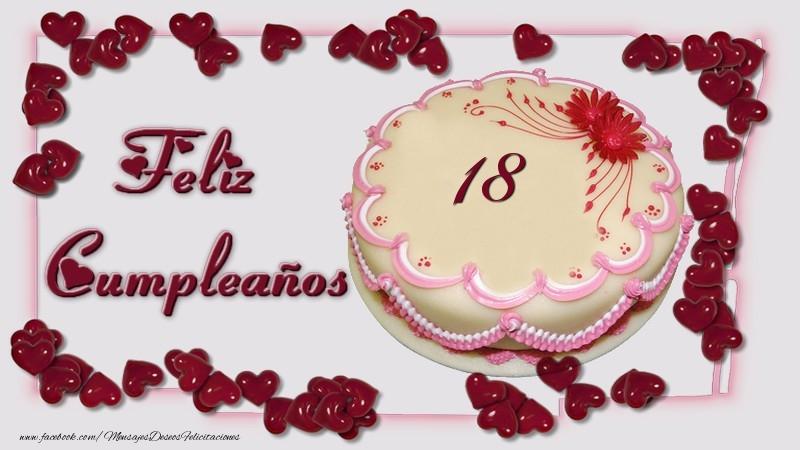 18 años Feliz Cumpleaños