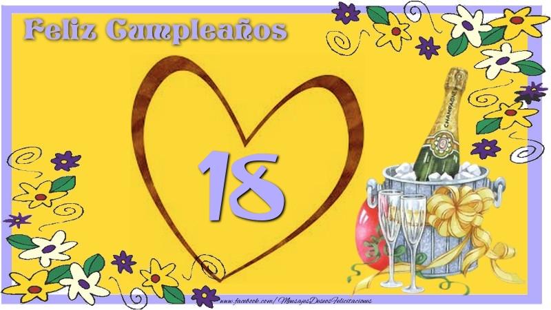 Feliz Cumpleaños 18 años
