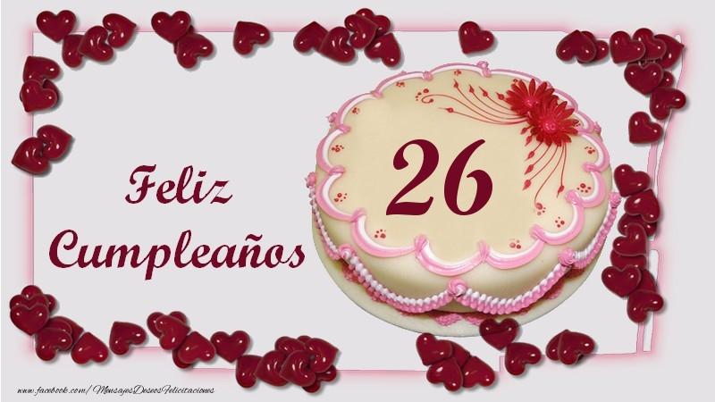Feliz Cumpleaños 26 años