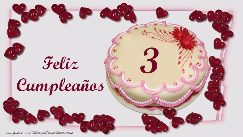 Feliz Cumpleaños 3 años