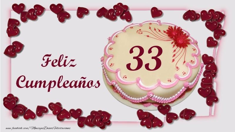 Feliz Cumpleaños 33 años