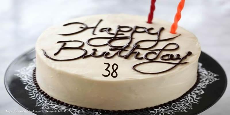 Happy Birthday 38 años