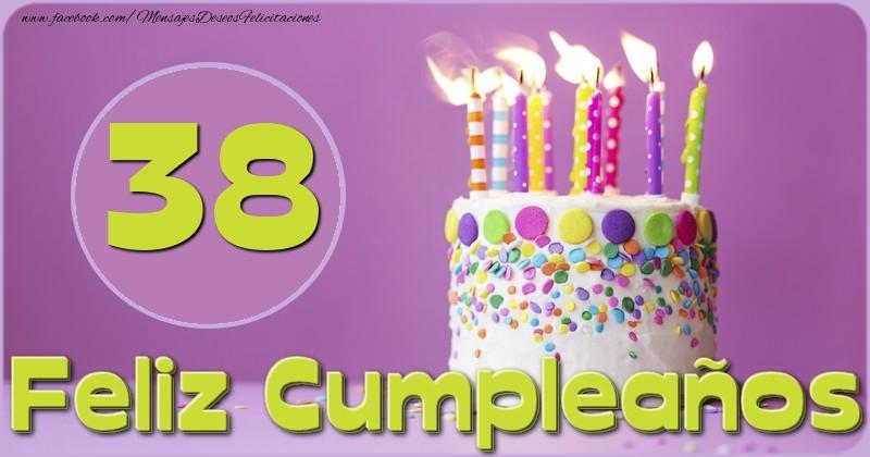 Feliz Cumpleaños 38 años