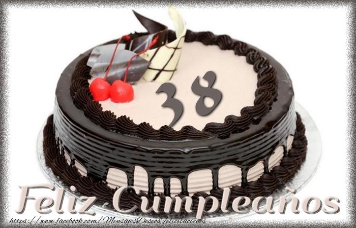 38 años Feliz Cumpleaños