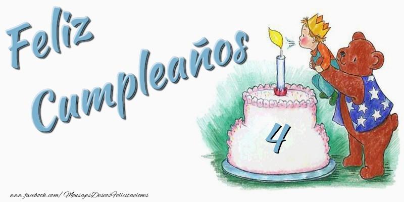 Feliz Cumpleaños 4 años!