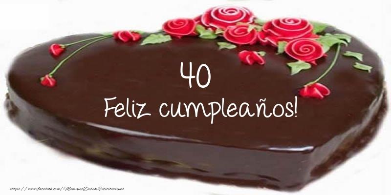40 años Feliz cumpleaños!