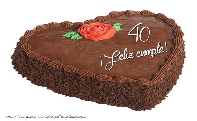 ¡Feliz cumple 40 años!