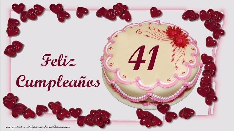 Feliz Cumpleaños 41 años