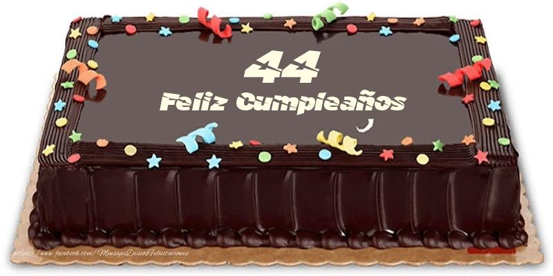 Tarta 44 años Feliz Compleaños