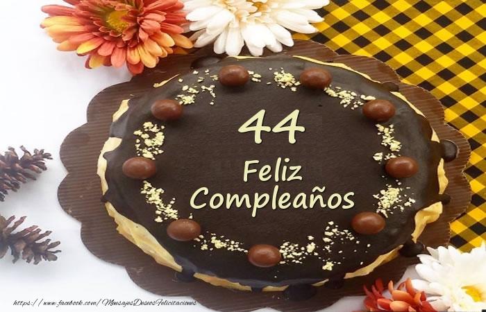 Tarta Feliz Compleaños 44 años