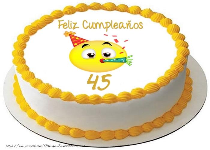 45 años, Feliz Cumpleaños