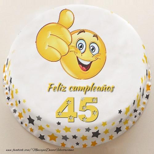 Feliz Cumpleaños, 45 años!