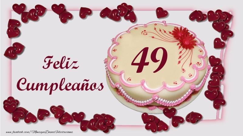 Feliz Cumpleaños 49 años