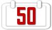 Felicitaciones para años 50 años