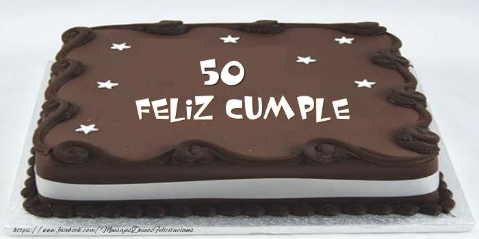 Tarta Feliz cumple 50 años