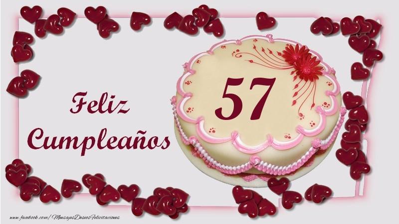 Feliz cumpleanos en tus 57 anos
