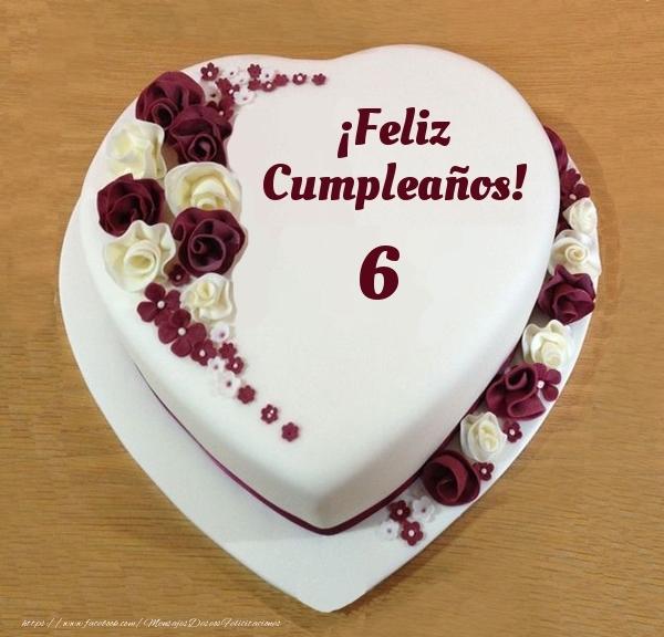 ¡Feliz Cumpleaños! - Tarta 6 años