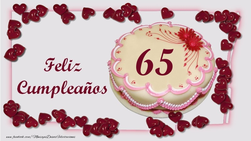 Feliz Cumpleaños 65 años