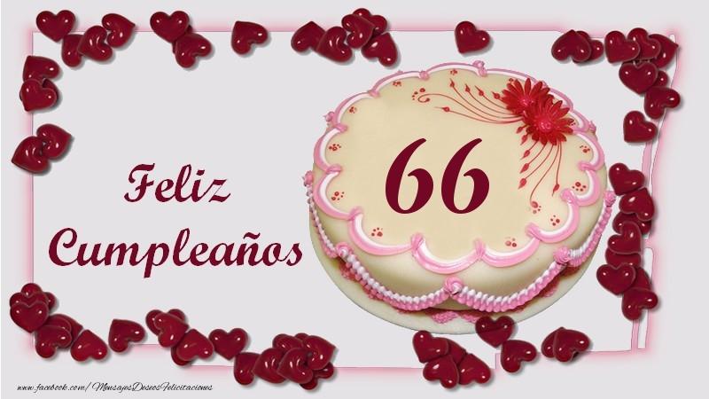Feliz Cumpleaños 66 años