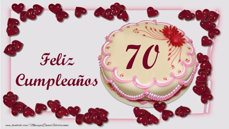 Feliz Cumpleaños 70 años