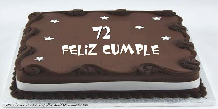 Tarta Feliz cumple 72 años