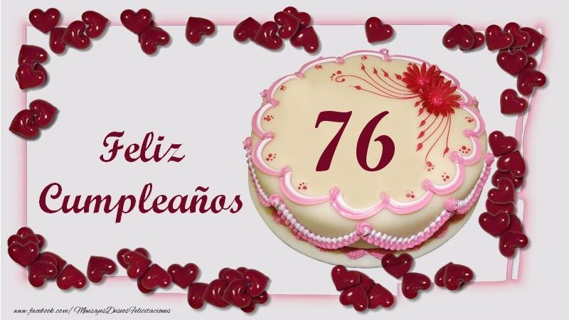 Feliz Cumpleaños 76 años