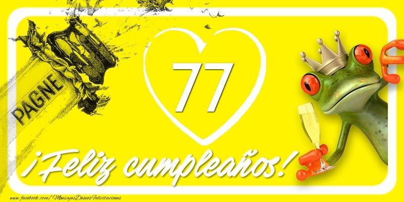 Feliz Cumpleaños, 77 años!