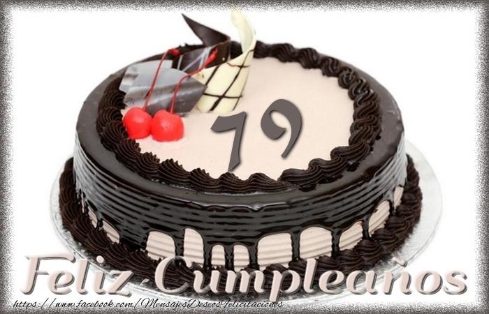 79 años Feliz Cumpleaños