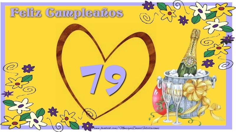 Feliz Cumpleaños 79 años