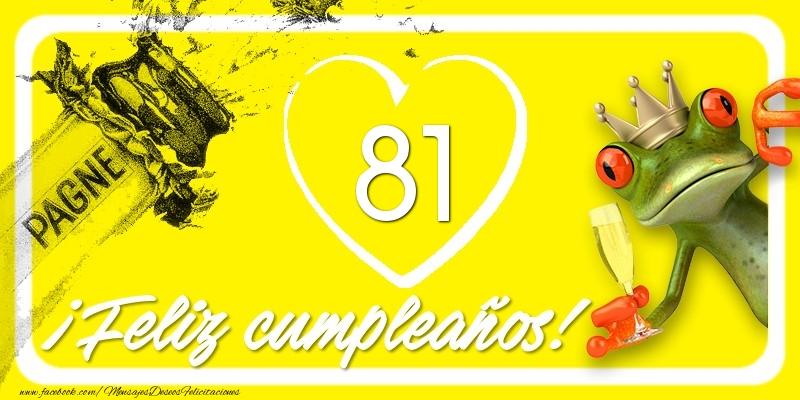 Feliz Cumpleaños, 81 años!