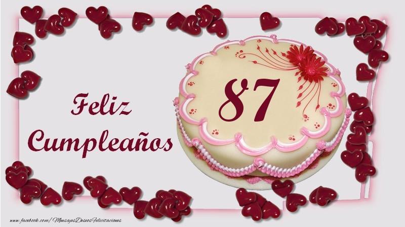 Feliz Cumpleaños 87 años