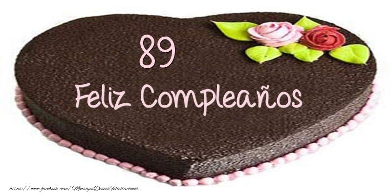 Tarta 89 años Feliz Compleaños