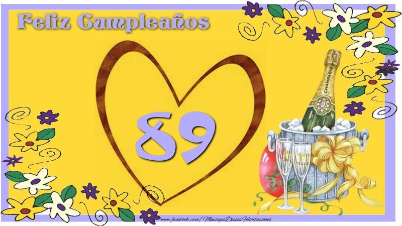 Feliz Cumpleaños 89 años