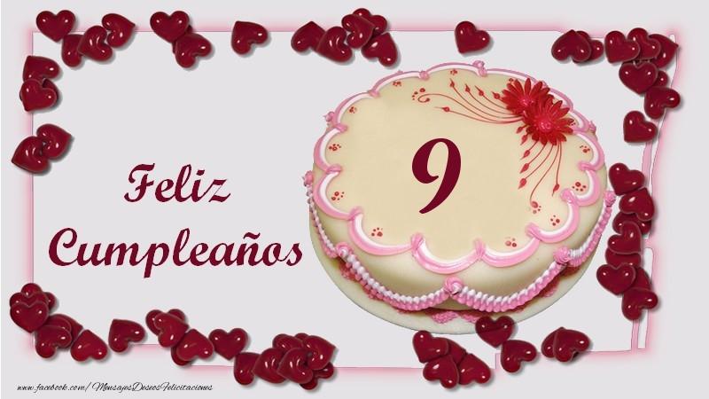 Feliz Cumpleaños 9 años
