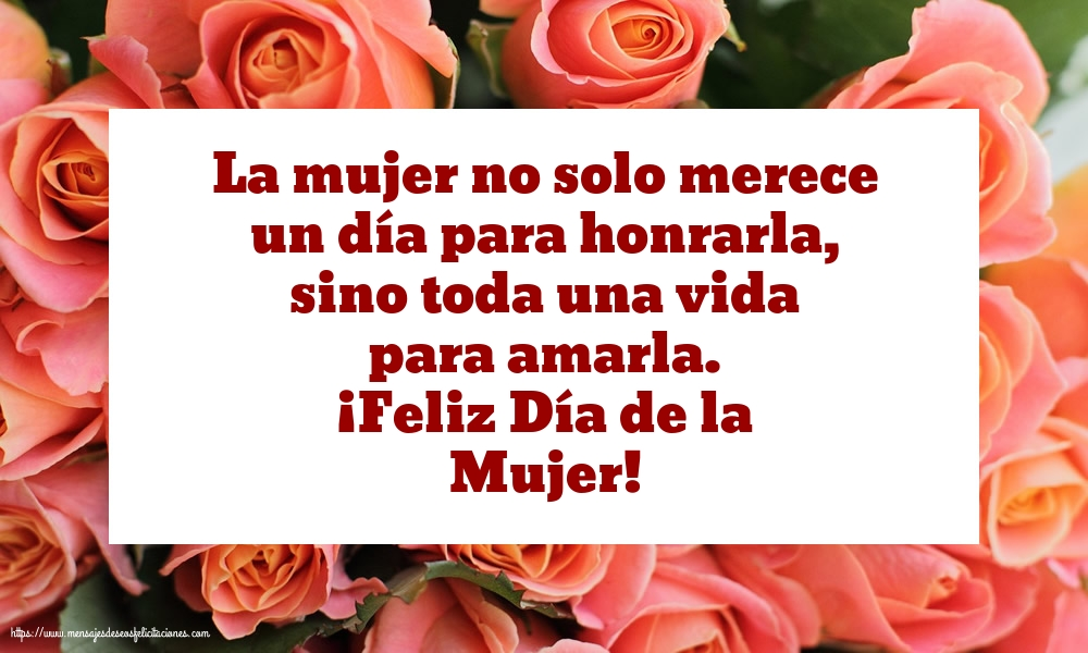 Felicitaciones Para El Dia De La Mujer 8 De Marzo Feliz Dia De La Mujer Mi Amor Mensajesdeseosfelicitaciones Com Use custom templates to tell the right story for your business. de marzo feliz dia de la mujer