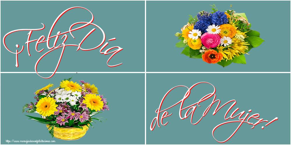 Felicitaciones para el día de la mujer - ¡Feliz Día de la Mujer!