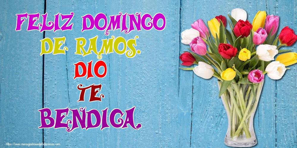 Felicitaciones de Domingo De Ramos - Feliz Domingo de Ramos. Dio te bendiga.