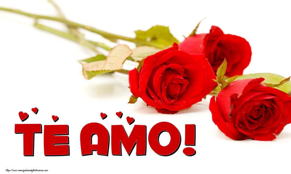 Felicitaciones de amor - Te amo! - mensajesdeseosfelicitaciones.com