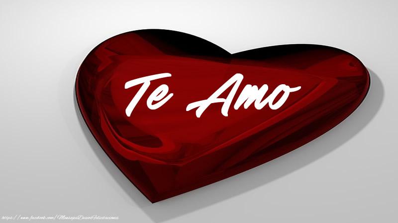 Felicitaciones de amor - Te amo en corazon!