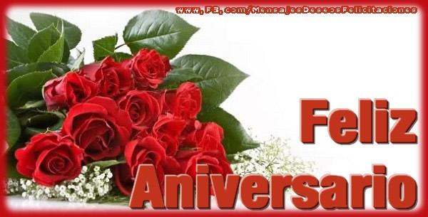 El más popular felicitaciones de aniversario - Feliz Aniversario!