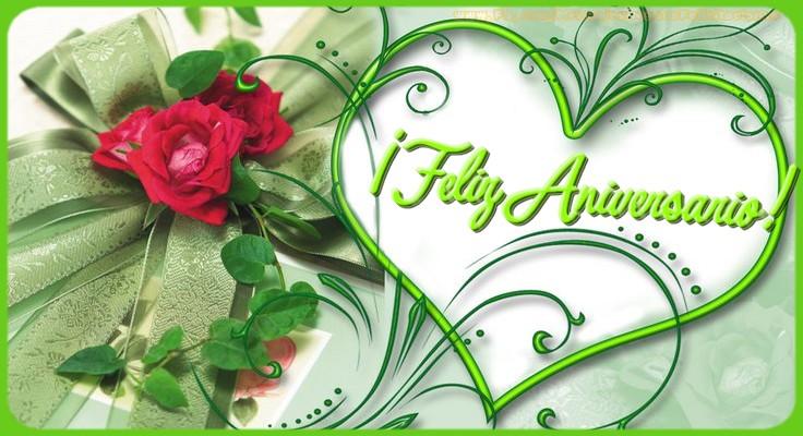 Felicitaciones  - Feliz Aniversario!
