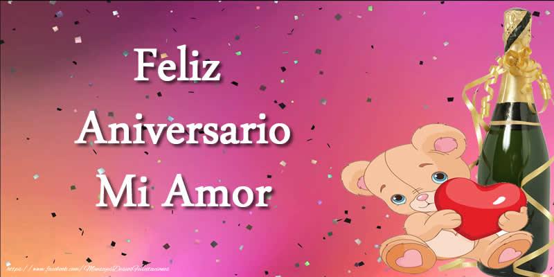 Feliz Aniversario Mi Amor: Felicitaciones De Aniversario