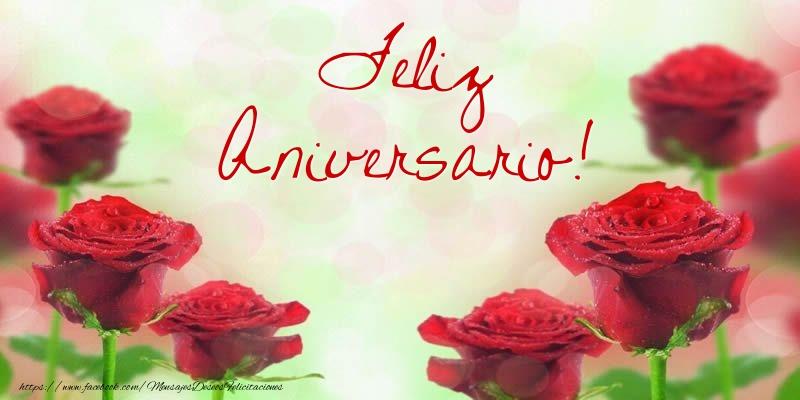 Felicitaciones de aniversario - Feliz aniversario!